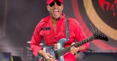 Tom Morello com o Prophets Of Rage em 2016