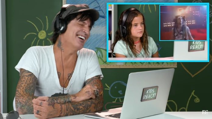 Tommy Lee no Kids React