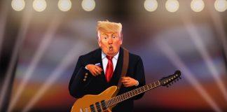 Tweet: paródia de Donald Trump com Radiohead