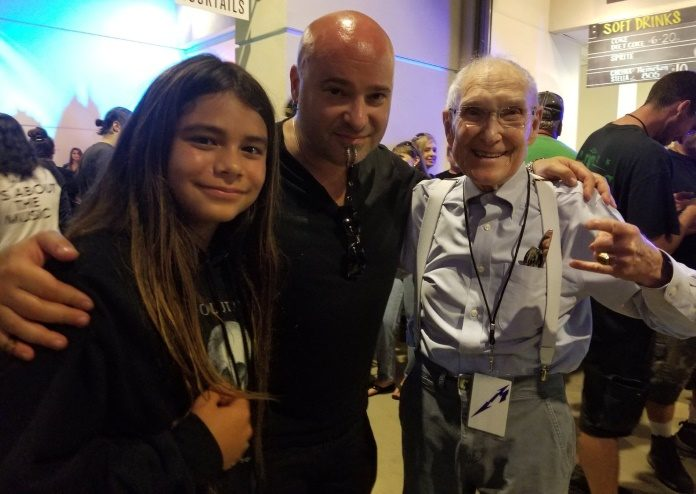 Tye Trujillo, David Draiman e Ray Burton
