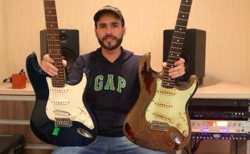 Comparação entre guitarra Memphis e Fender