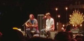 Eddie Vedder com Matt Cameron