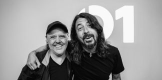 Lars Ulrich entrevista Dave Grohl