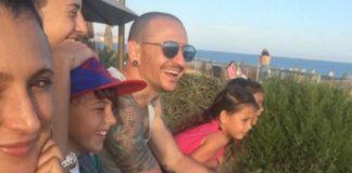 Chester Bennington e família