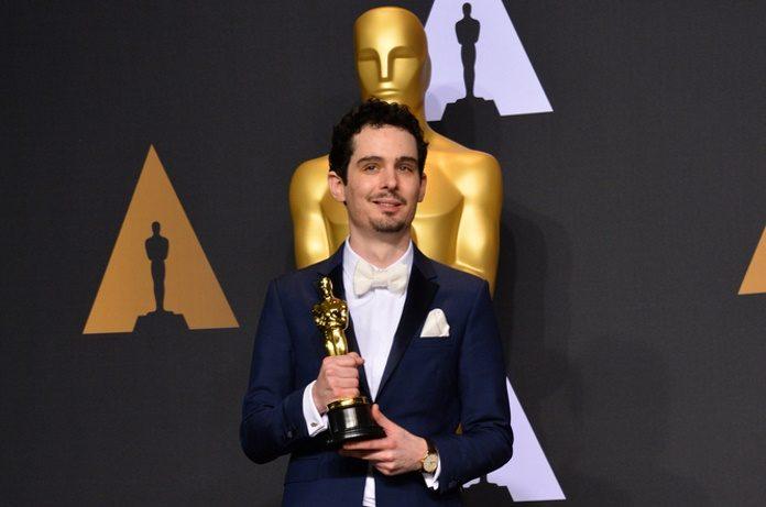 Damien Chazelle no Oscar em 2017