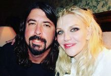 Dave Grohl e Courtney Love