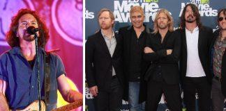 Eddie Vedder (Pearl Jam) e Foo Fighters