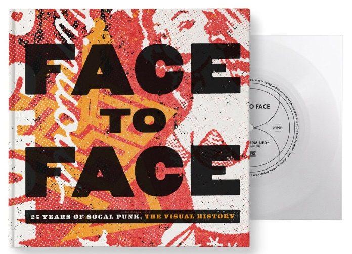 Livro do Face to Face com Flexi Disc