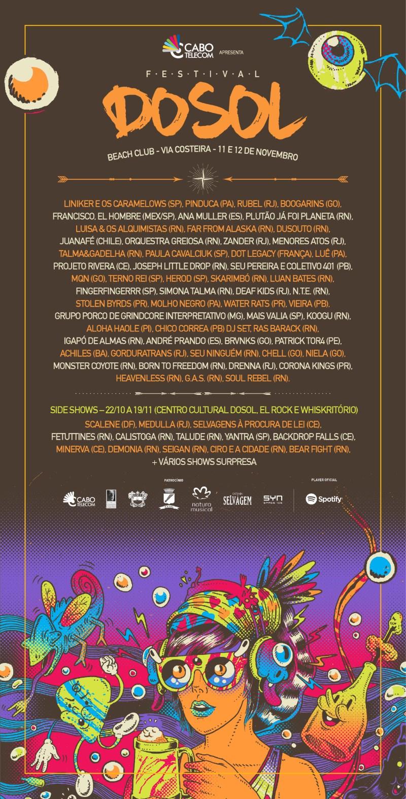 Line-up do Festival DoSol 2017