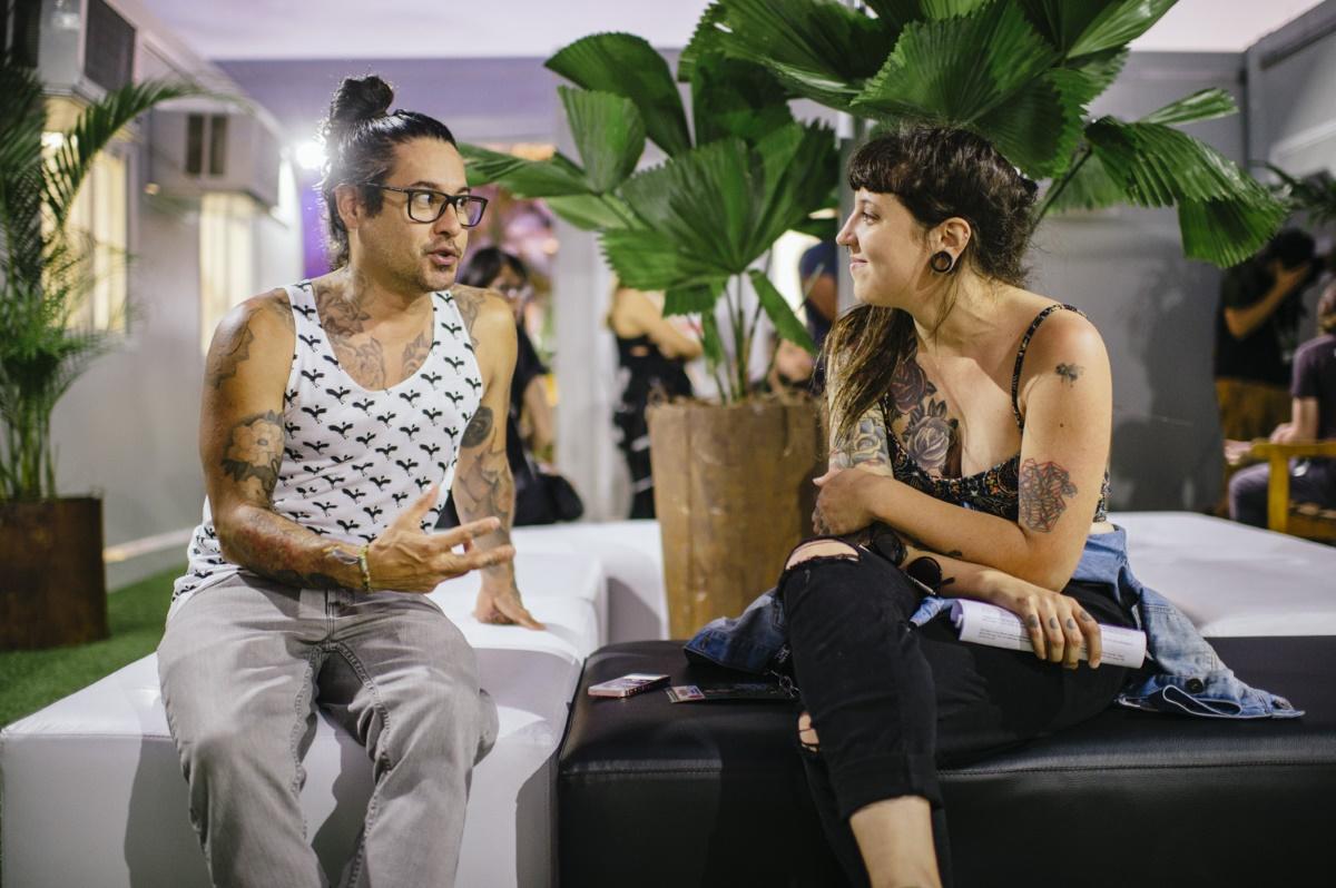 José Pasillas e Larissa Conforto