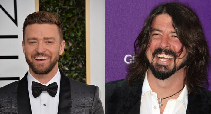 Justin Timberlake colabora em novo álbum do Foo Fighters, Concrete and Gold