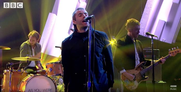 Liam Gallagher no Later... With Jools Holland