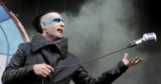Marilyn Manson em 2015 no Rock on the Range