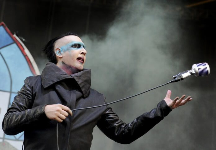 Marilyn Manson em 2015 no Rock on the Range