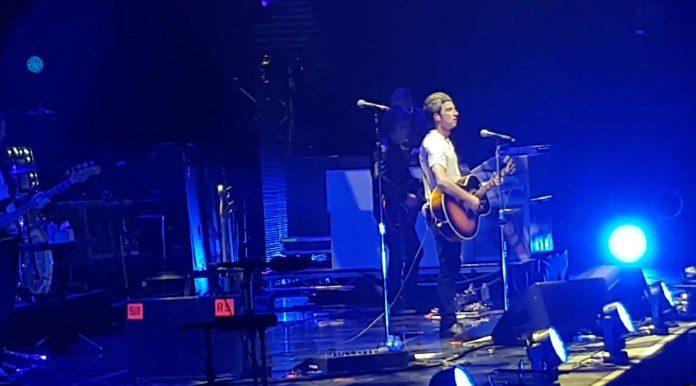 Noel Gallagher na reabertura da Manchester Arena