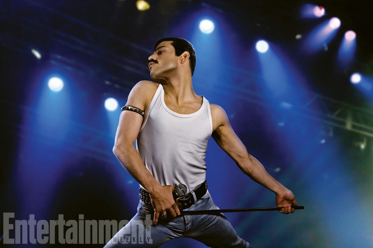 Primeira imagem de Rami Malek como Freddy Mercury — Queen