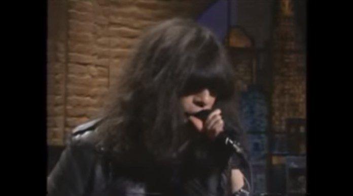 Ramones no programa de David Letterman em 1996