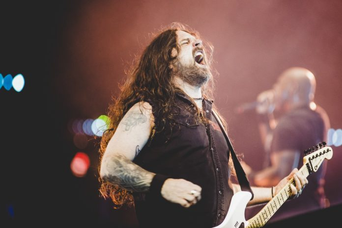 Andreas Kisser, do Sepultura no Rock In Rio 2017