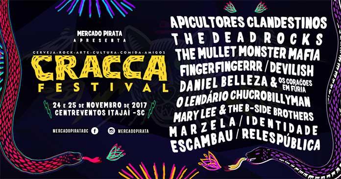 Lineup CRACCA Festival