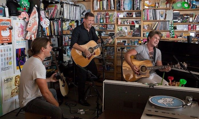 Hanson no Tiny Desk, da NPR