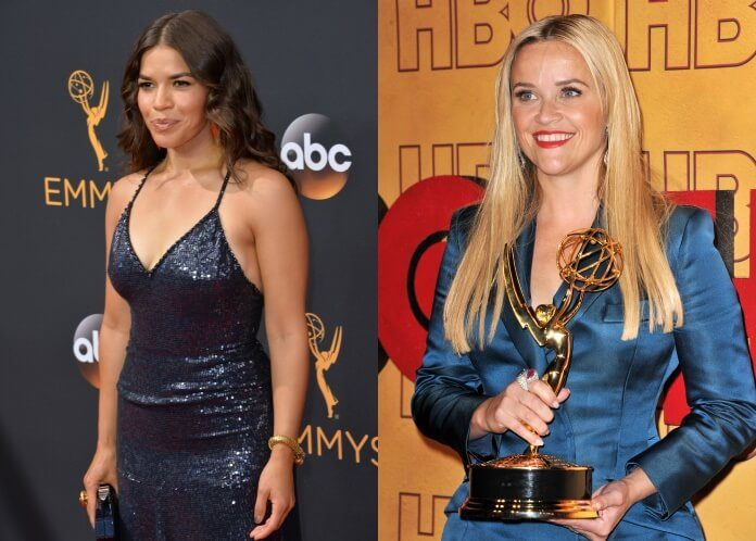America Ferrera e Reese Witherspoon