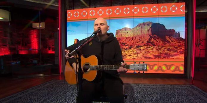 Billy Corgan em programa de televisão