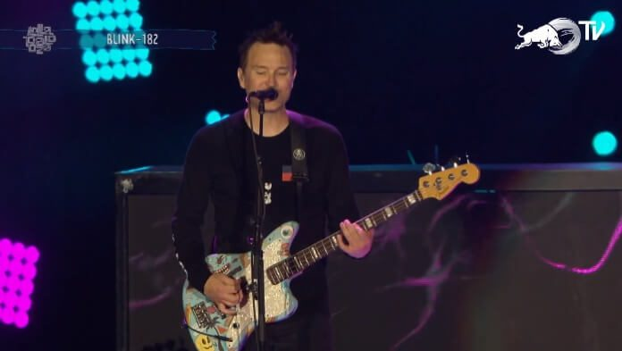 Blink-182 no Lollapalooza