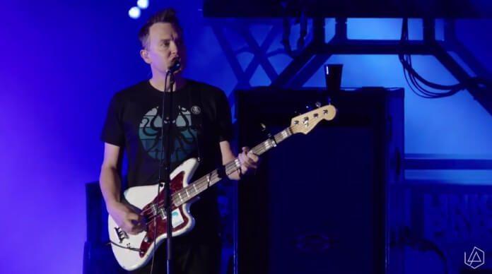 Blink-182 no tributo do Linkin Park a Chester Bennington