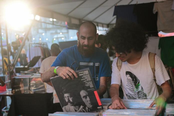 Feira de Vinil no Festival Radioca 2017