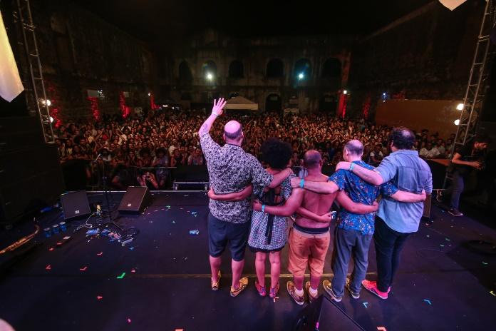 Metá Metá no Festival Radioca 2017