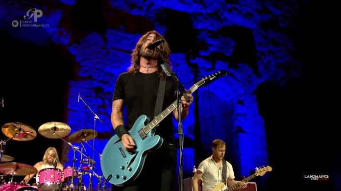 Foo Fighters na Acrópole de Atenas
