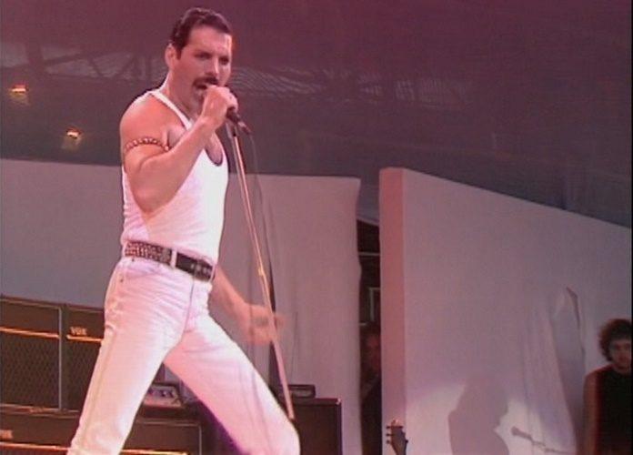 Freddie Mercury no Live Aid