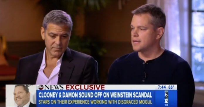 George Clooney e Matt Damon