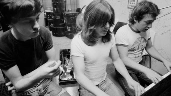 George Young com o AC/DC