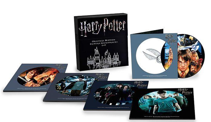 Trilha sonora de Harry Potter em vinil