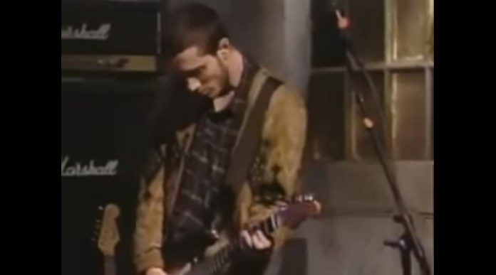 John Frusciante no Saturday Night Live 1992