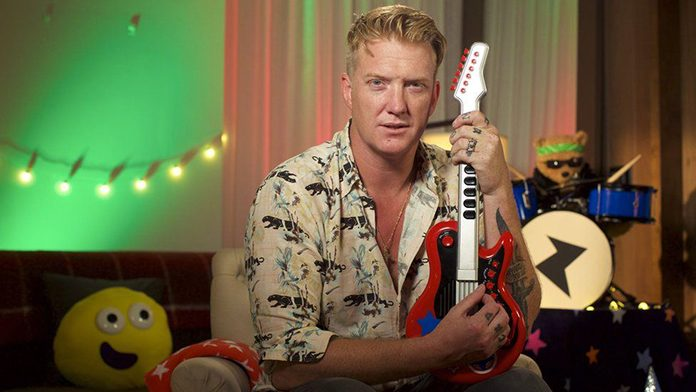 Josh Homme no Bedtime Stories da BBC