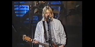 Nirvana em ensaio para o Saturday Night Live