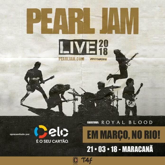 Pearl Jam no Maracanã