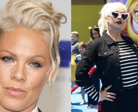 Pink e Christina Aguilera