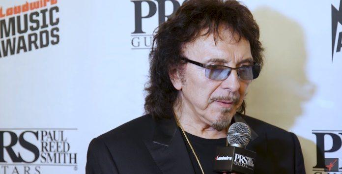 Tony Iommi no Loudwire Awards
