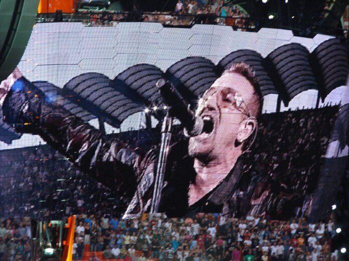 U2 na Itália em 2009