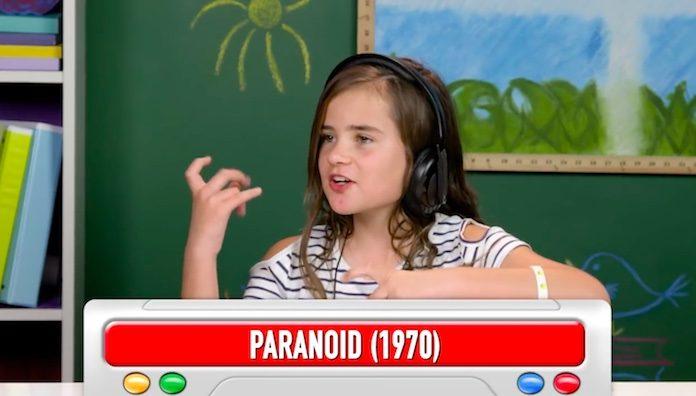 Crianças reagem a Black Sabbath