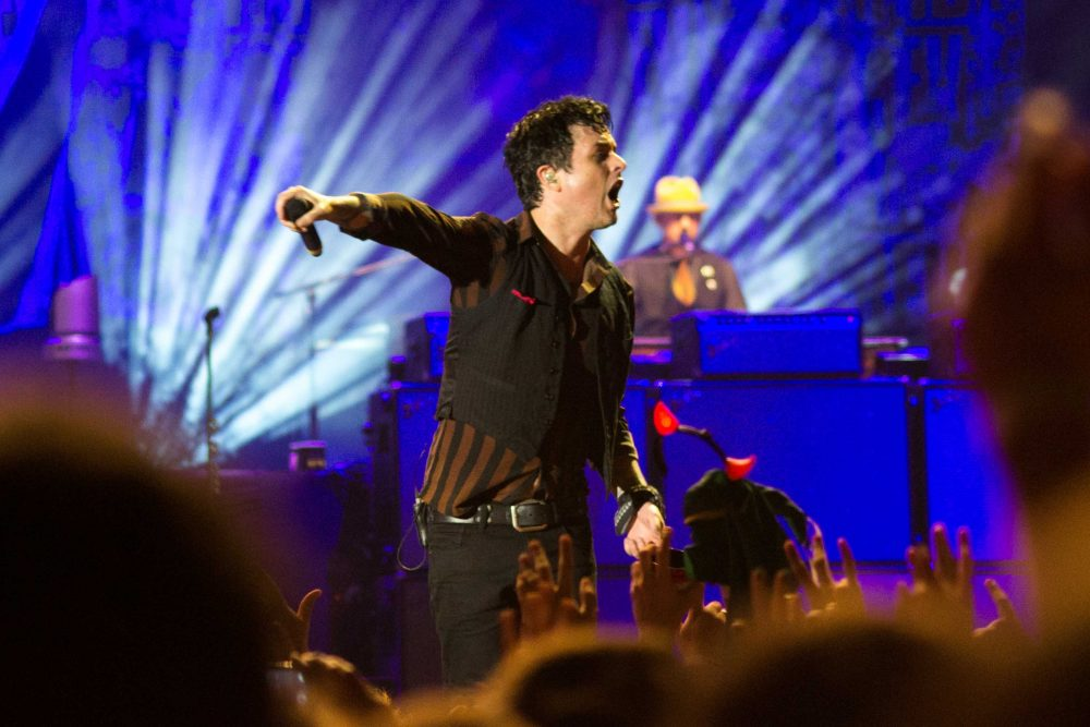 Billie Joe Armstrong do Green Day em São Paulo