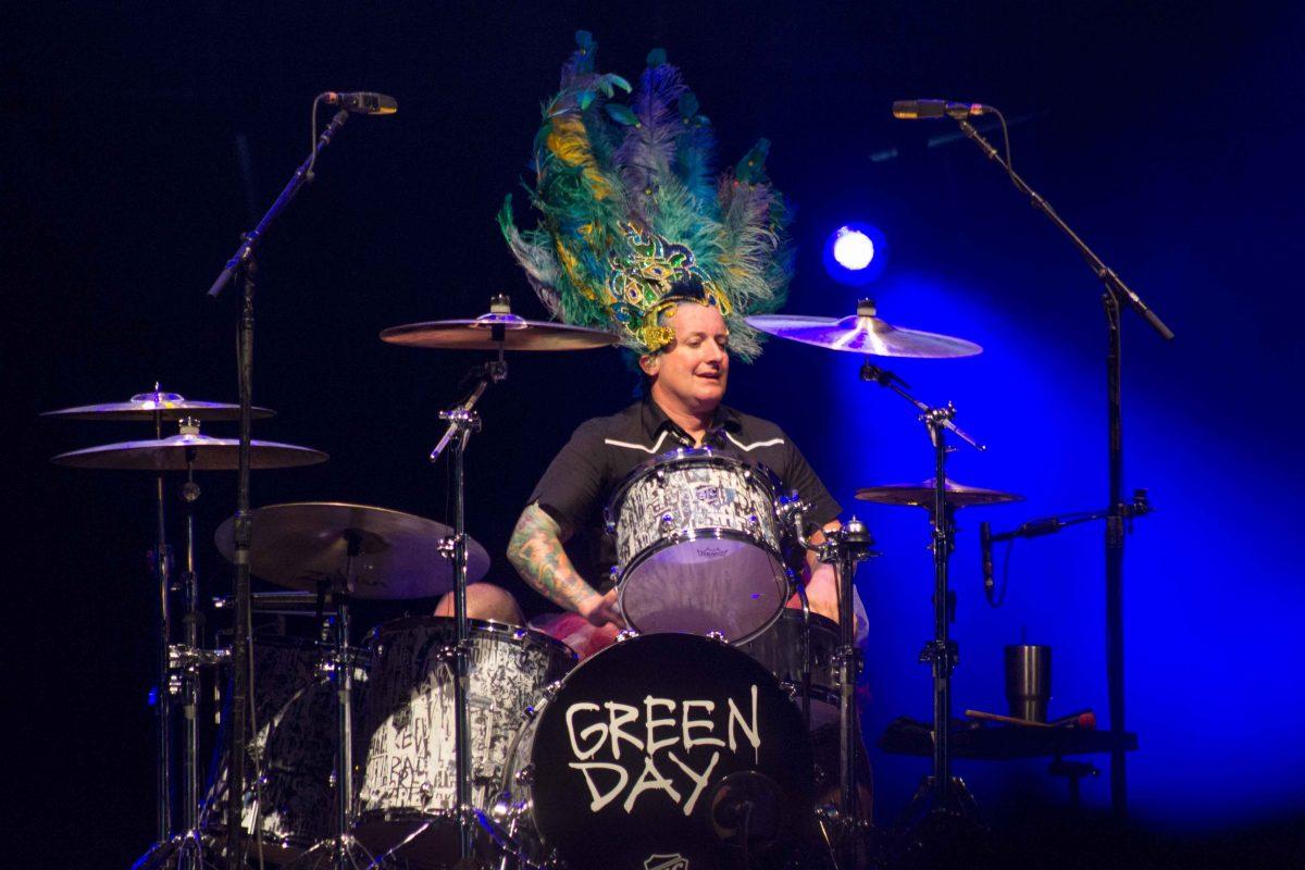 Tré Cool do Green Day em São Paulo