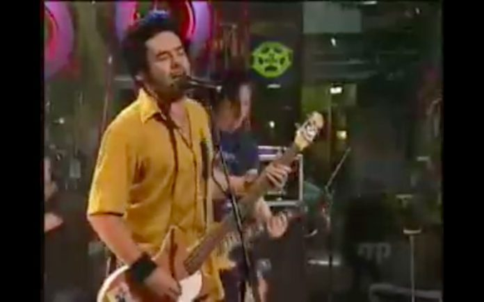 NOFX em programa de TV nos anos 90