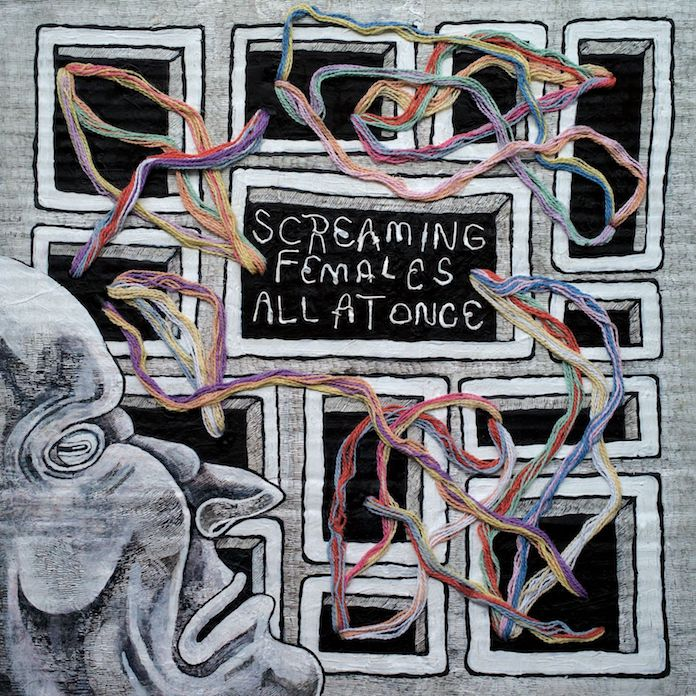 Screaming Females - All At Once capa