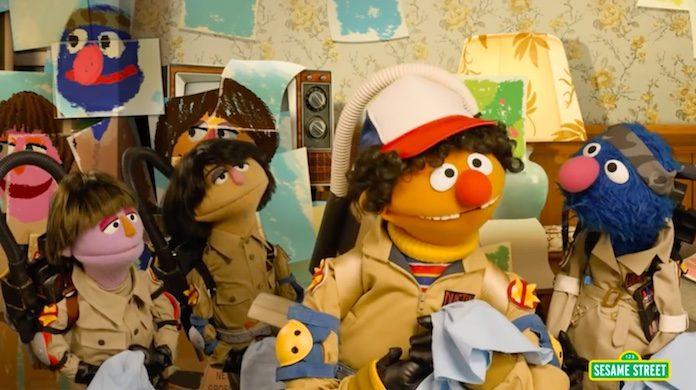 Sesame Street faz paródia de Stranger Things