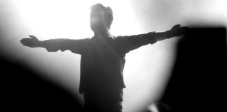 Billie Joe Armstrong, do Green Day, em Curitiba