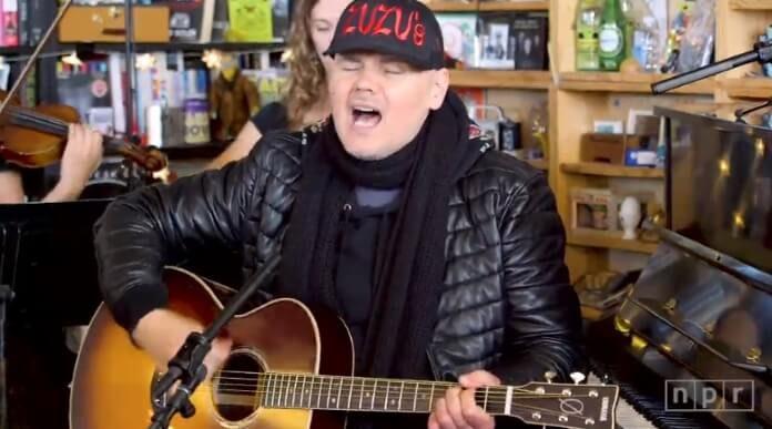 Billy Corgan na NPR